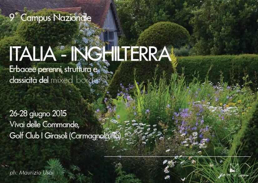 9° Campus: ITALIA-INGHILTERRA prima parte (Carmagnola, TO, 26–28 giugno2015)