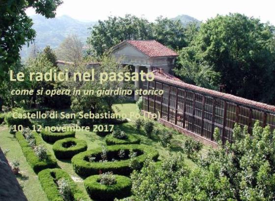 14° Campus: LE RADICI NEL PASSATO (Castello di San Sebastiano Po,  Torino, 10- 12 novembre2017)